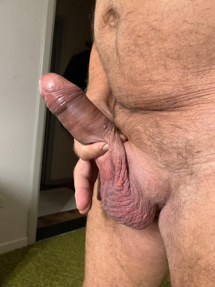 My grandpas huge cock