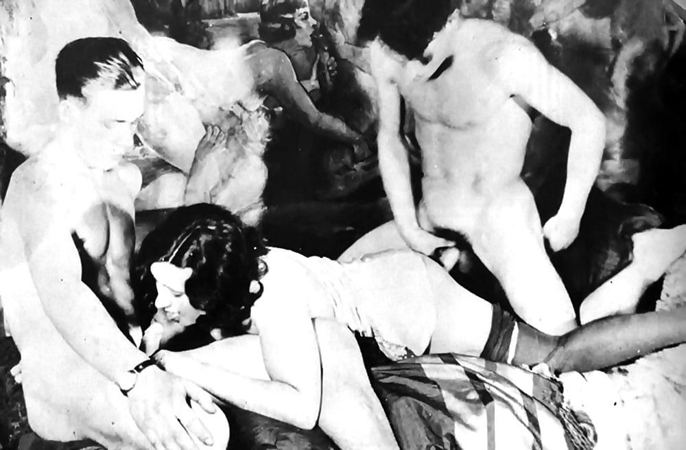 Vintage porn and erotic