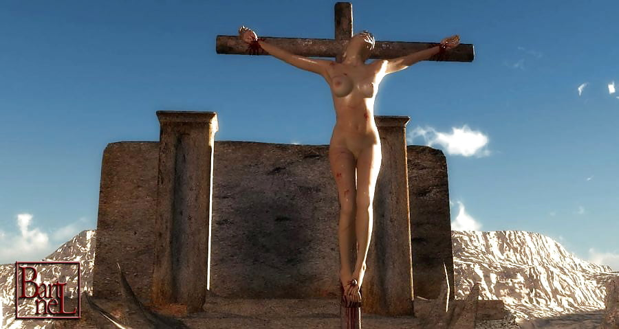 Mature christ crucified nude chick fuck