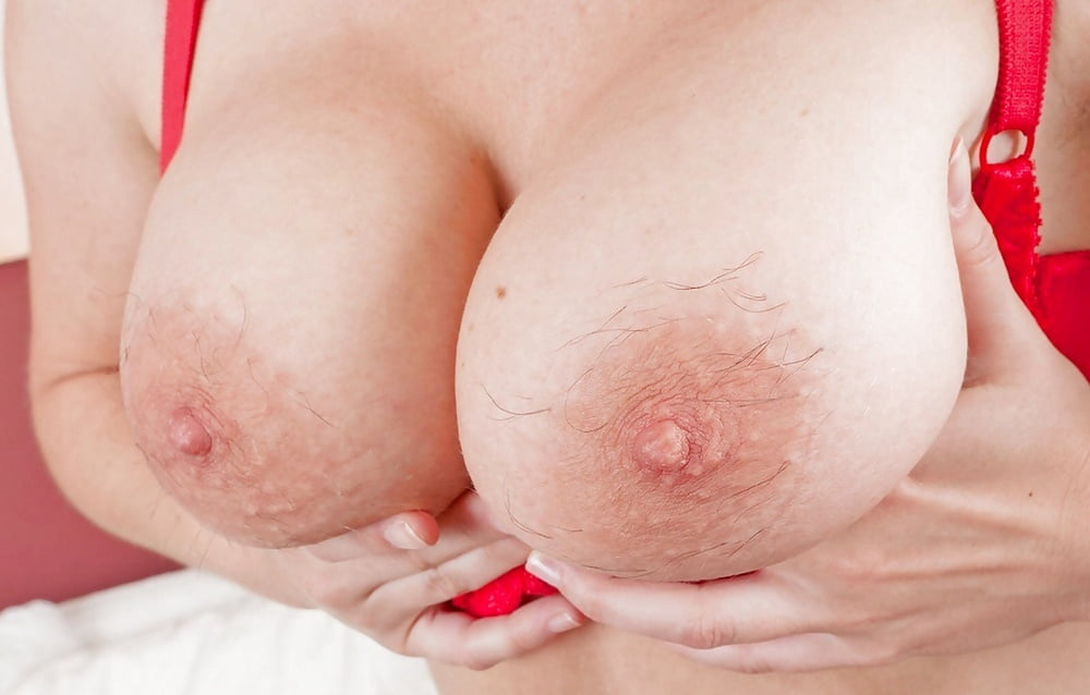 Ugly Amateur With Big Floppy Tits Wear A White
