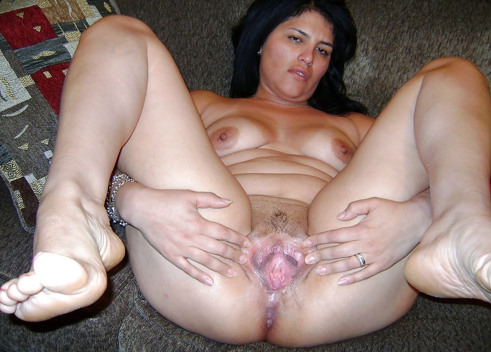 My Latina Wife's Pussy Covered In Cum