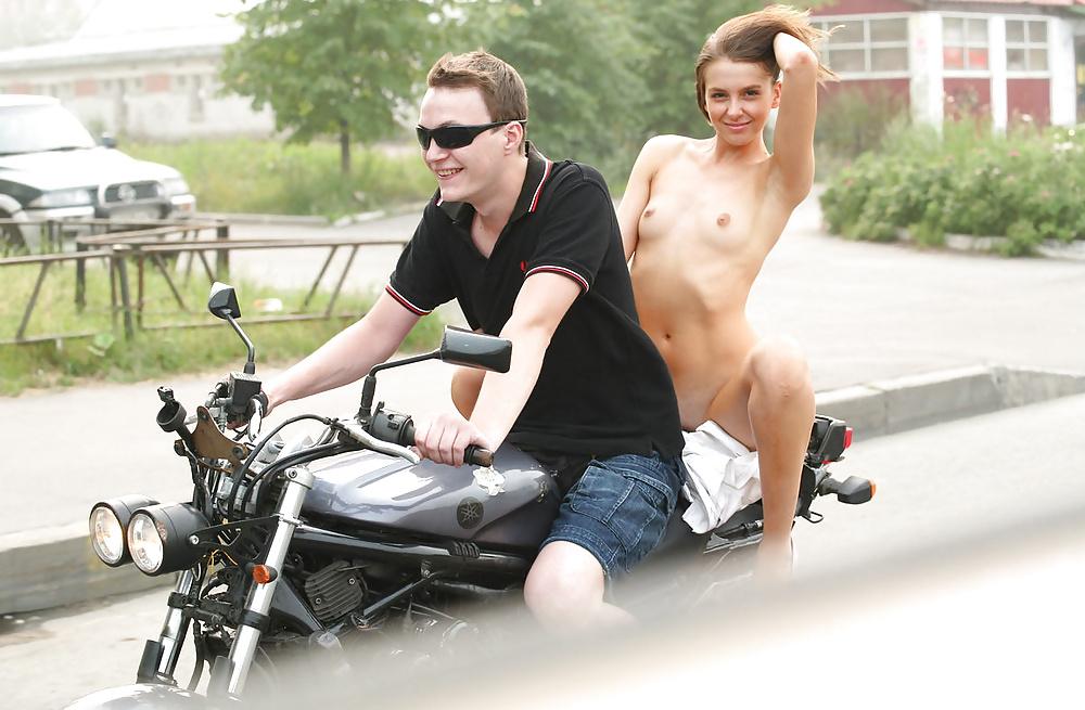 Bike with girl-1919