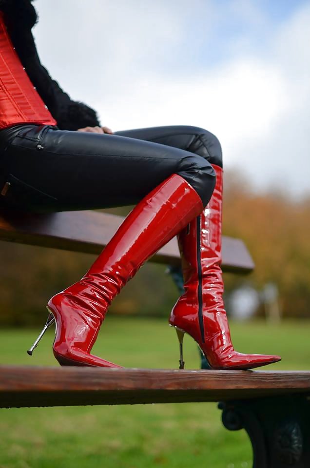 Lady l crush nexus with sexy extreme high heels - 5 8