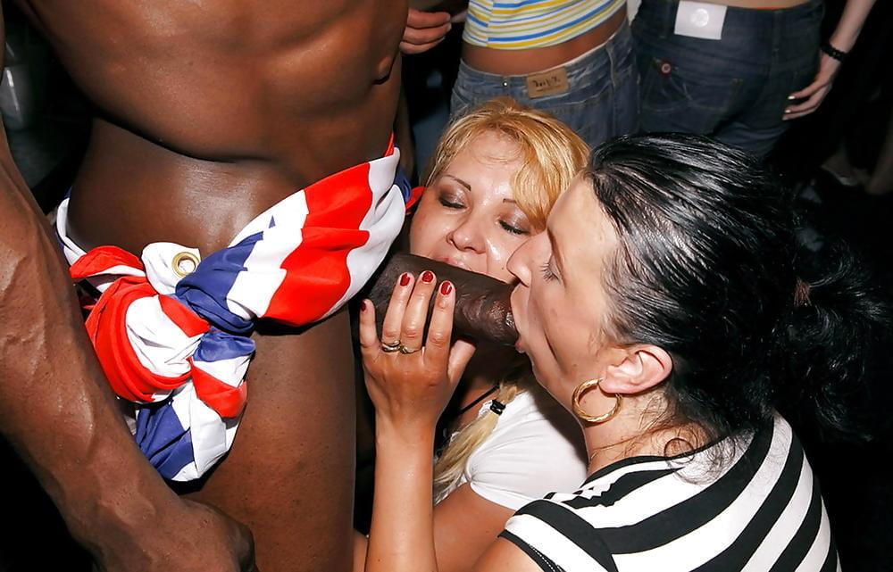 White Stripper Suck And Fucks Black Guy