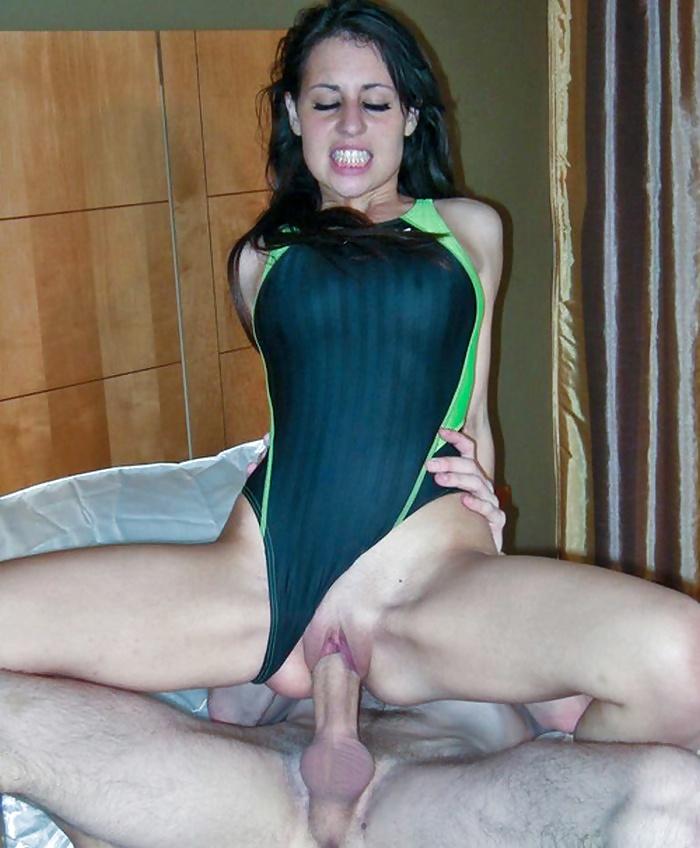 Busty tight dress tease
