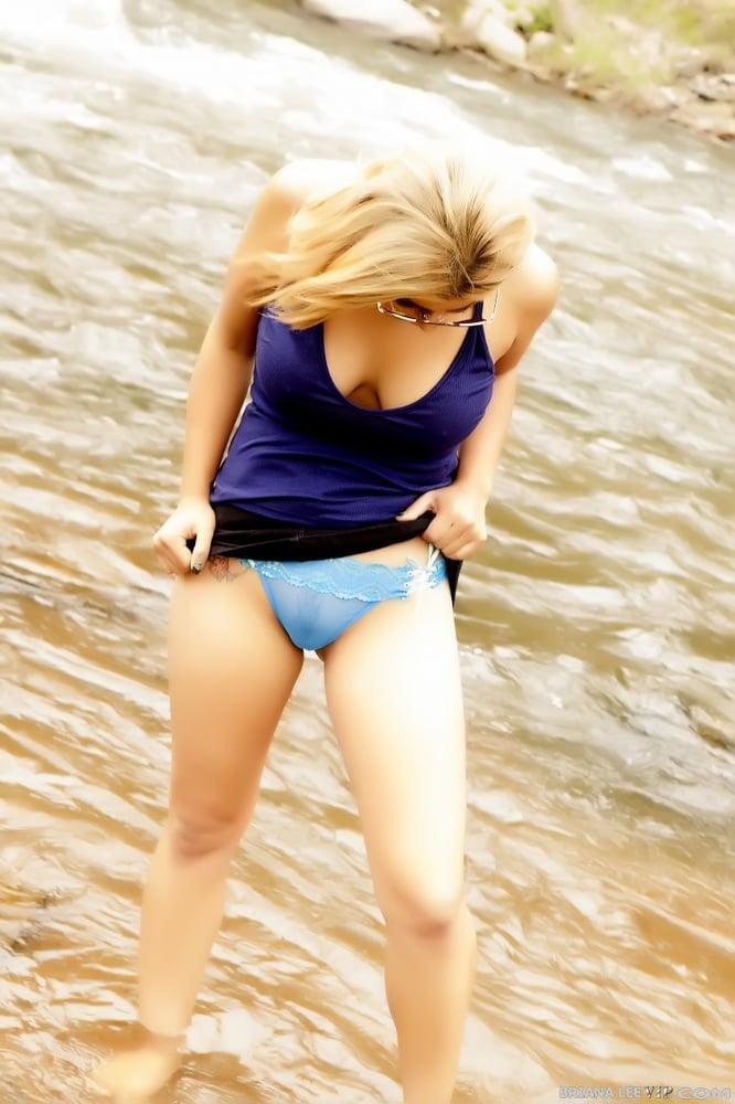 Briana Lee - River Side Nudity