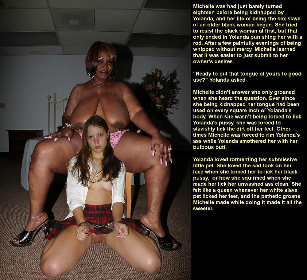 Black Mistress Fucks Slave