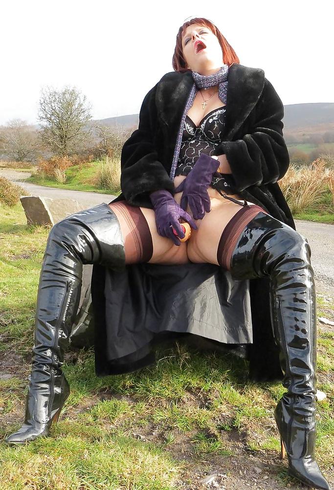 Slut Lady Kinkyboots On Fetish Girl 4tube 1