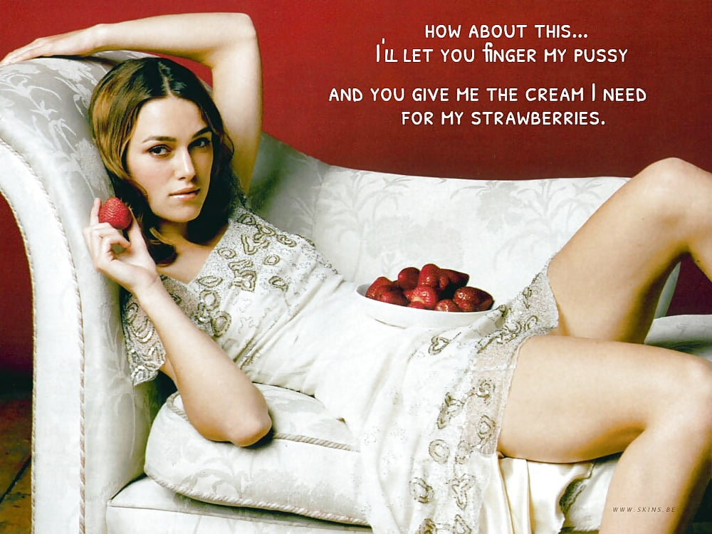 Keira knightley captions porn pictures