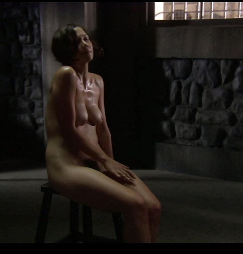 Maggie Gyllenhaal Fondles Her Co