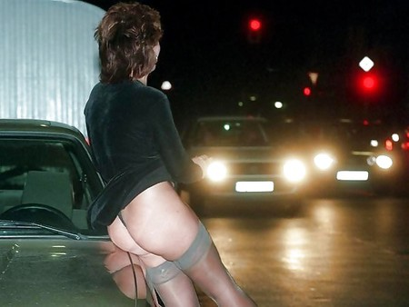 Street whores. Cheap and lovely