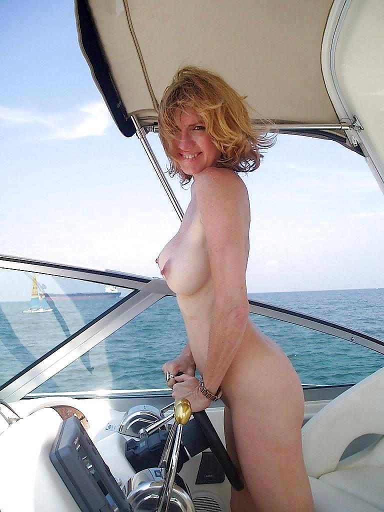 Mature boat