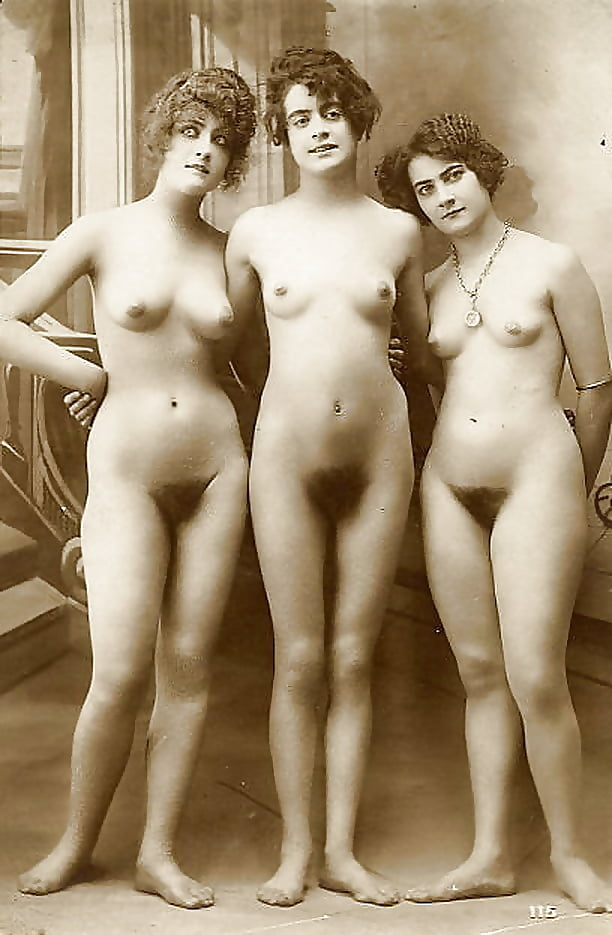Old fashioned nude fotos