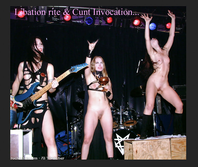 Rock band nude