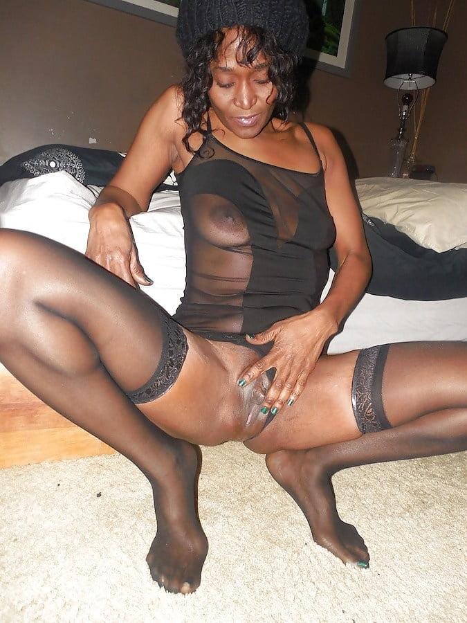 Ebony nude wife, breast drying feeding up