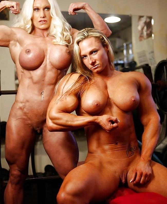 Women female bodybuilders having sex