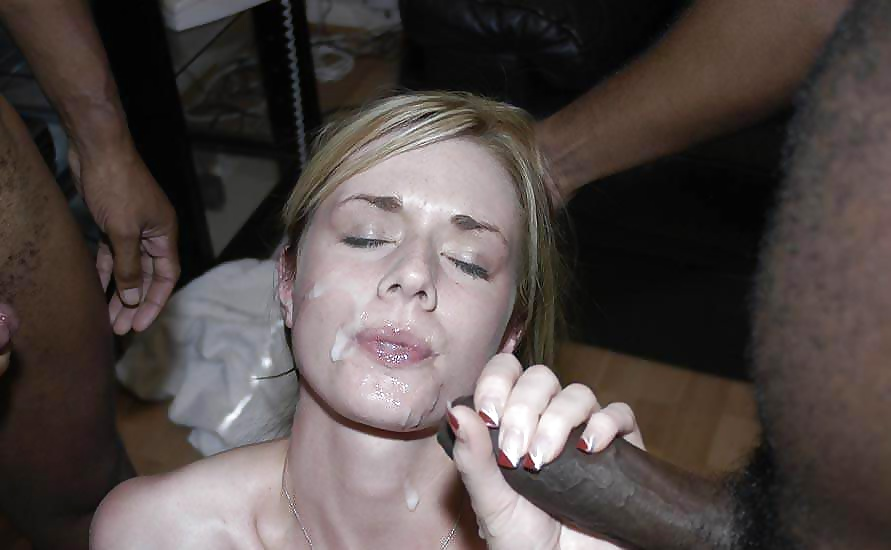 Black wife cumshot