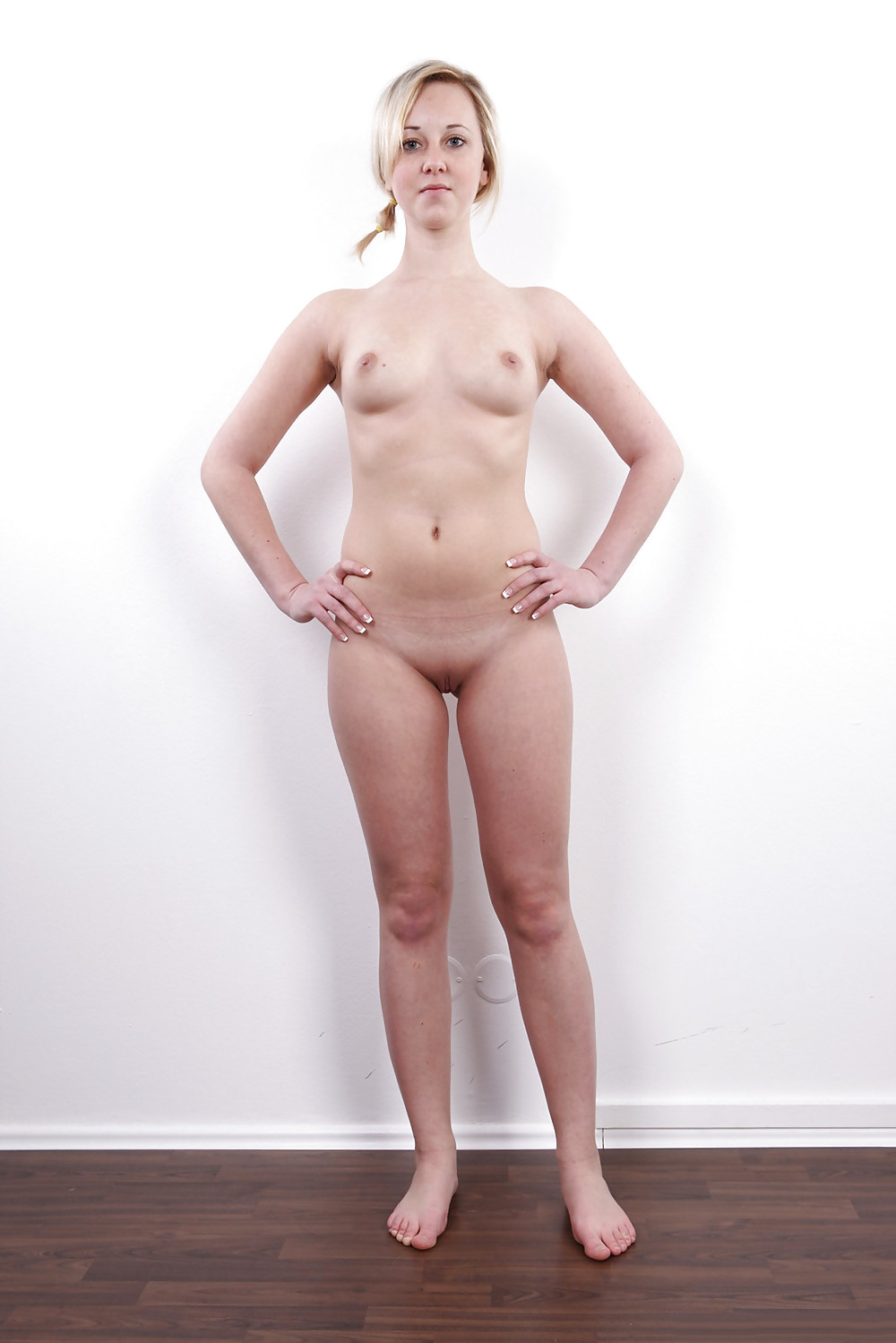 Standing nude with bush, nude harley