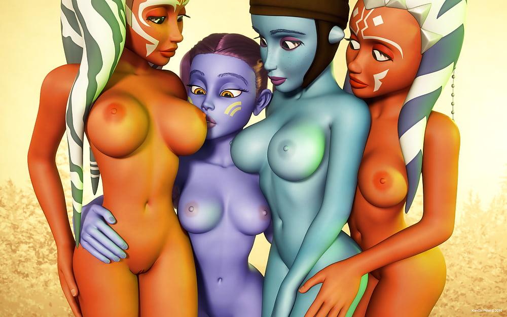 Gone Rogue Ahsoka Tano By Greg Andrews Artist By Badass