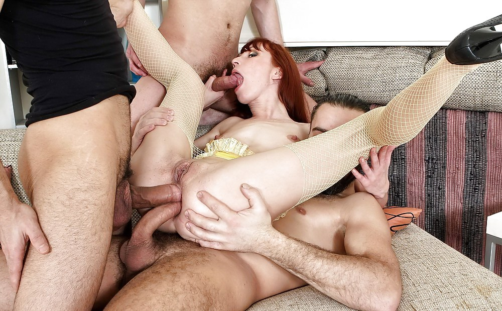 Teen redhead triple penetration, indian chicks getting fucked by white dick