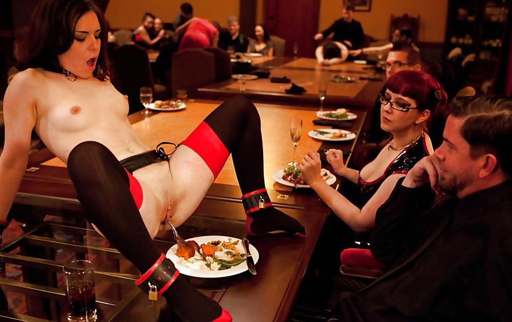Светский ужин порно — 2