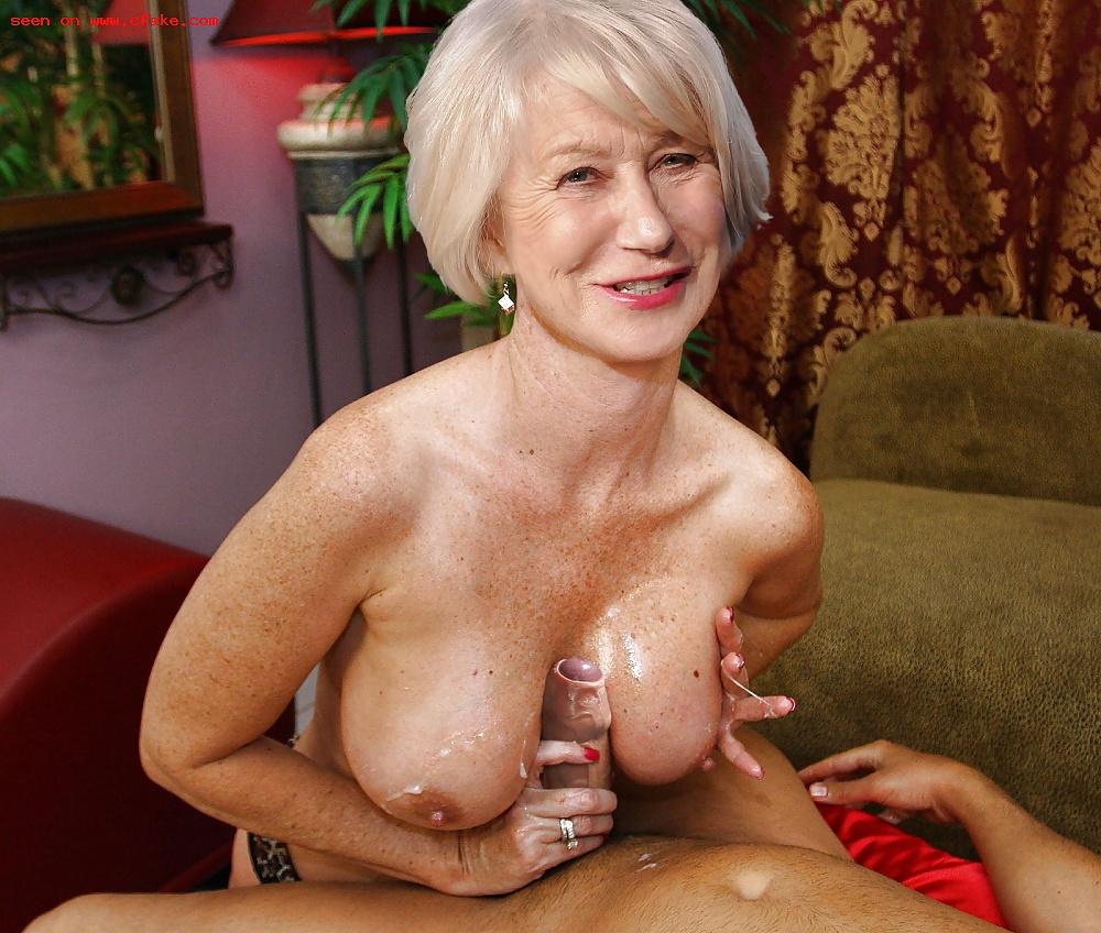 Helen mirren naked tits