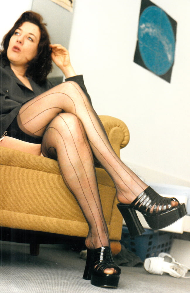 Nylon stockings in the late nineties - 14 Pics
