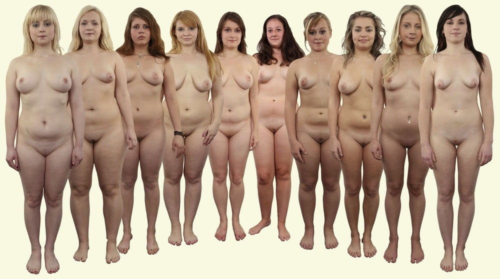Group Girls Naked Butts