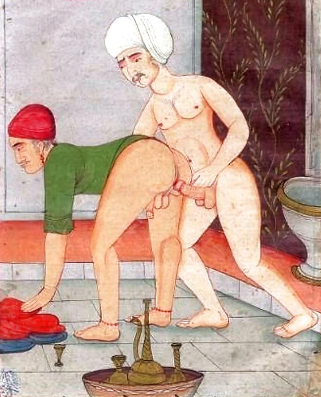 Anal sex kamasutra paintings