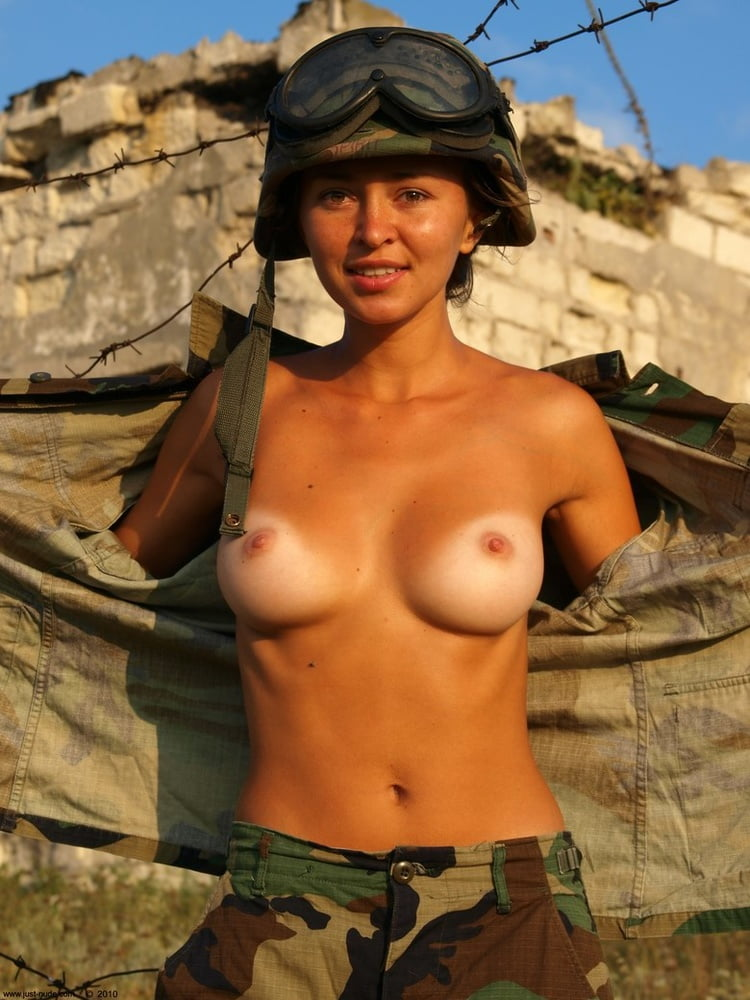 Military Nude Army Girl