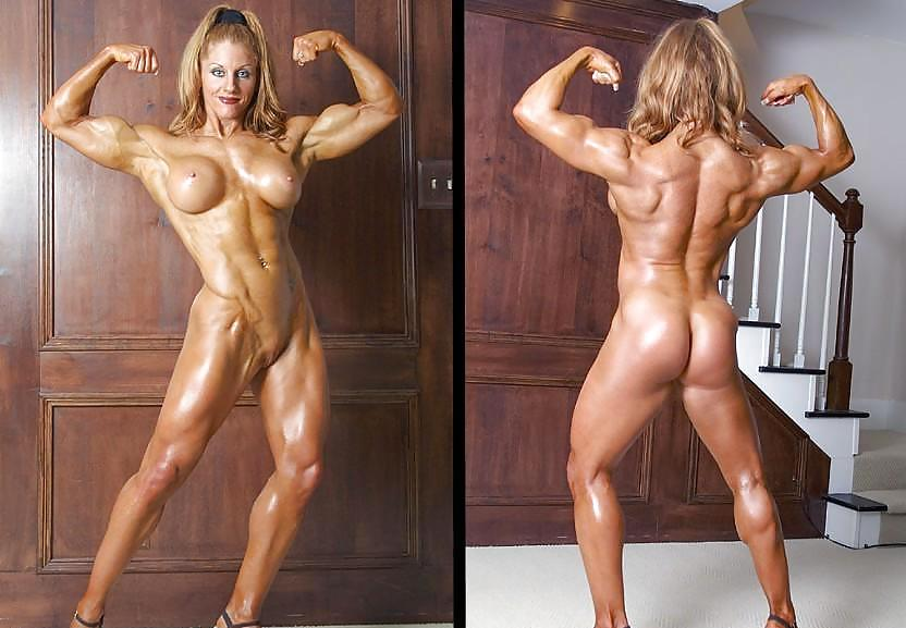 Desiree ellis in naked bodybuilding by hot muscle clips