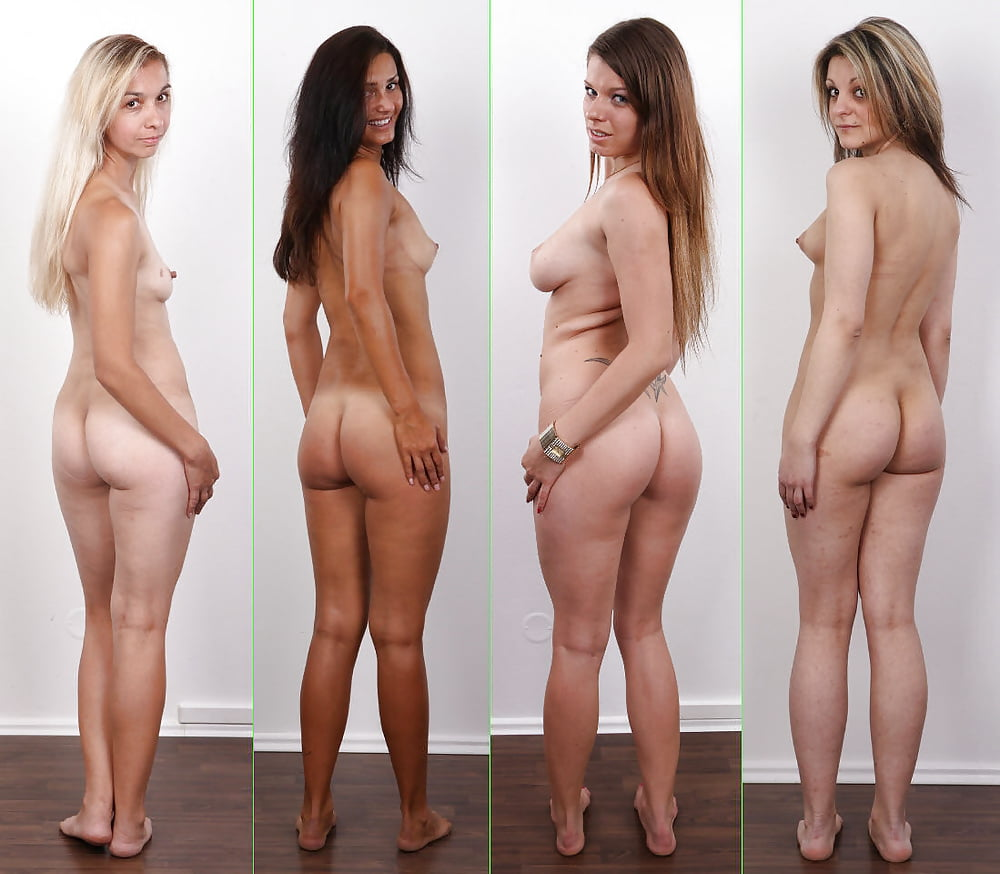 Shy Teen First Naked Casting