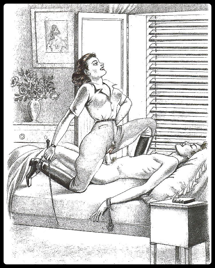 Free female domination drawings — 8