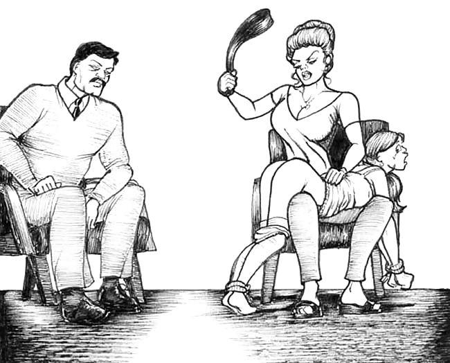 Психология домашней порки, усыпляют девушек и трахают