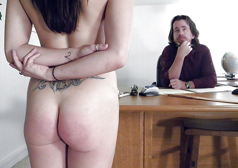 Real nude punishment