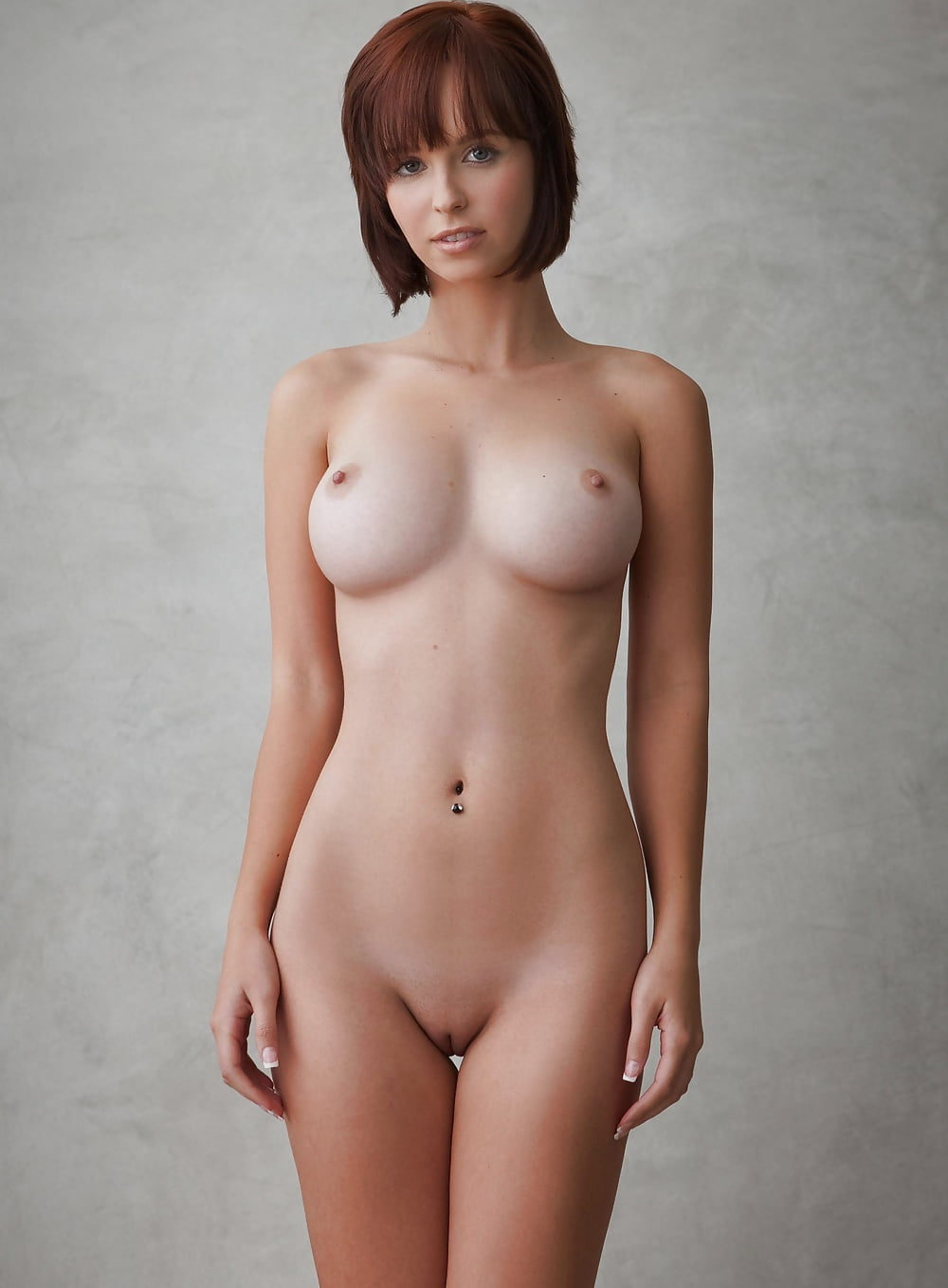 Sexy proud of her naked body