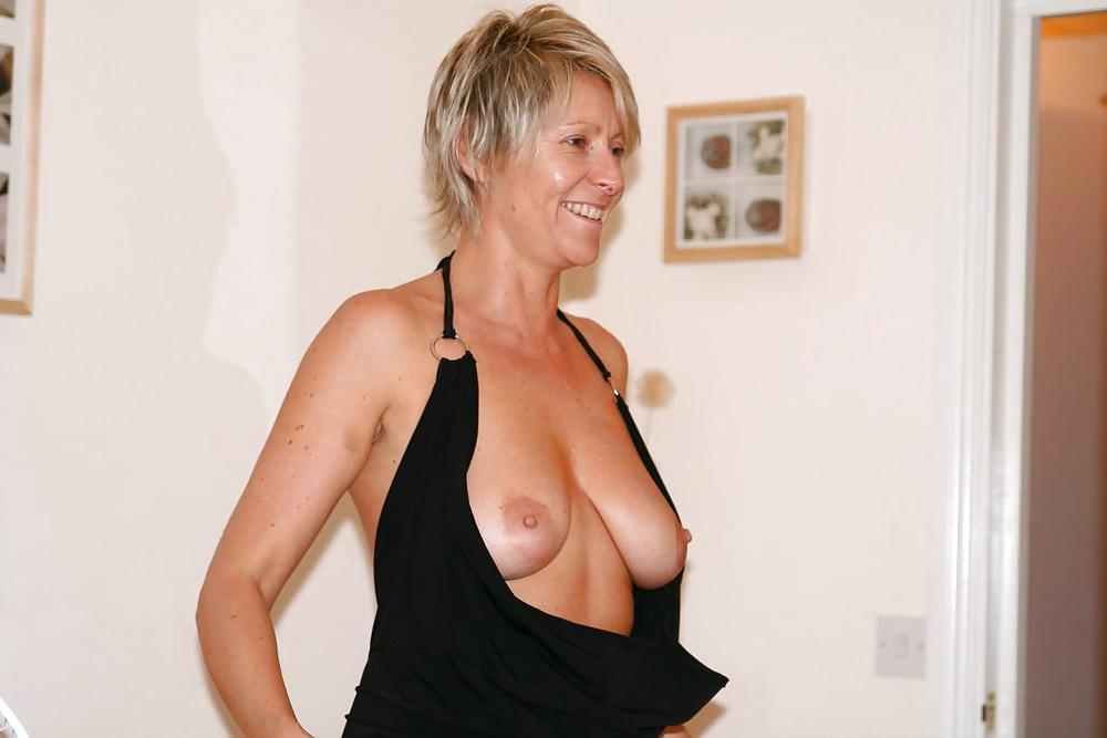 Naked short mature women