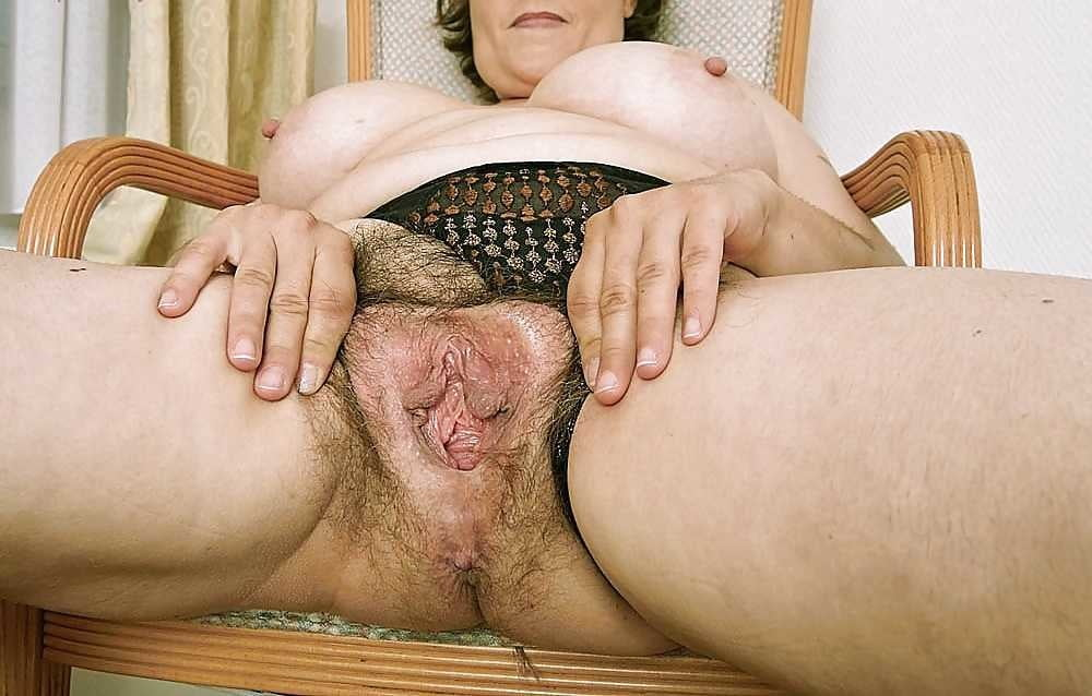Old grandmas big hairy pussy images