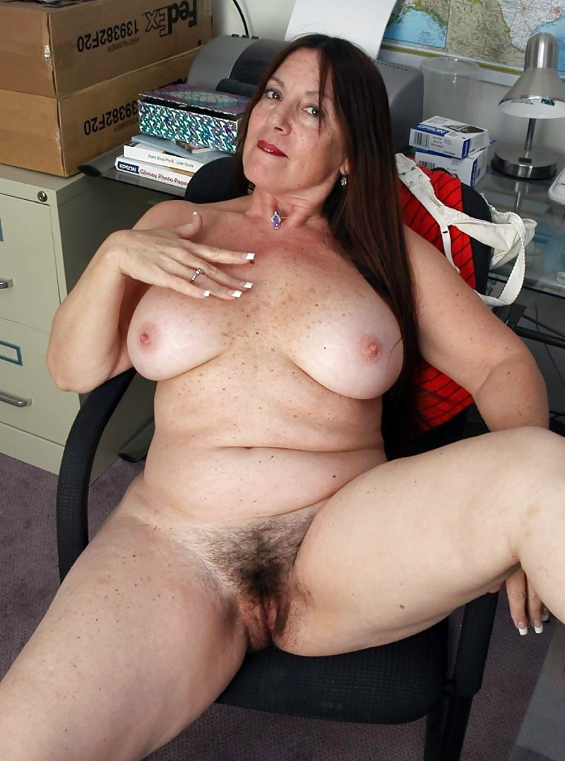 Horny busty mature plump hairy housewives — 3