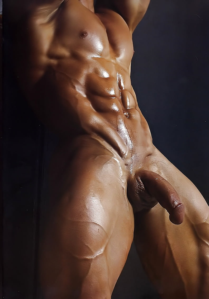 Sexy muscles cocks