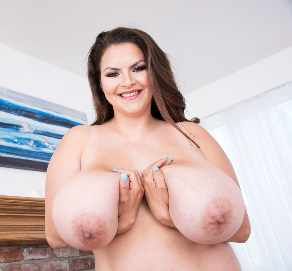 The Huge Boobs Of Alaura Grey Hang Out Of Her Shirt