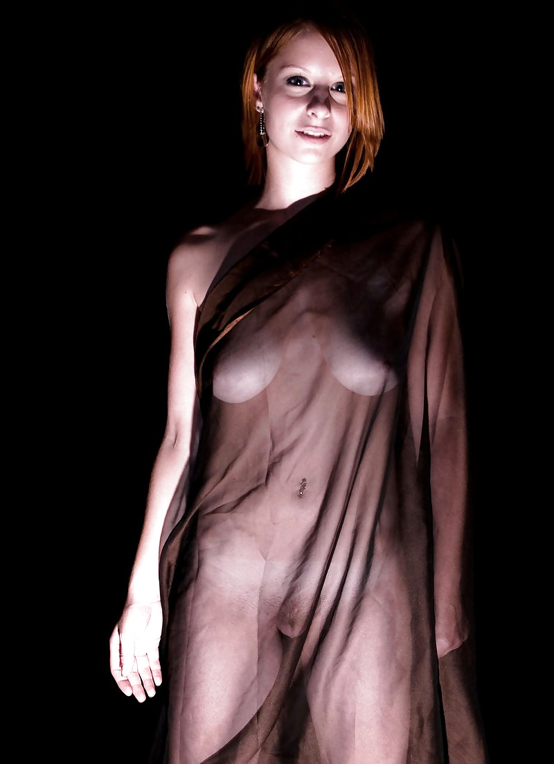 Nude see thru girls clothing porn