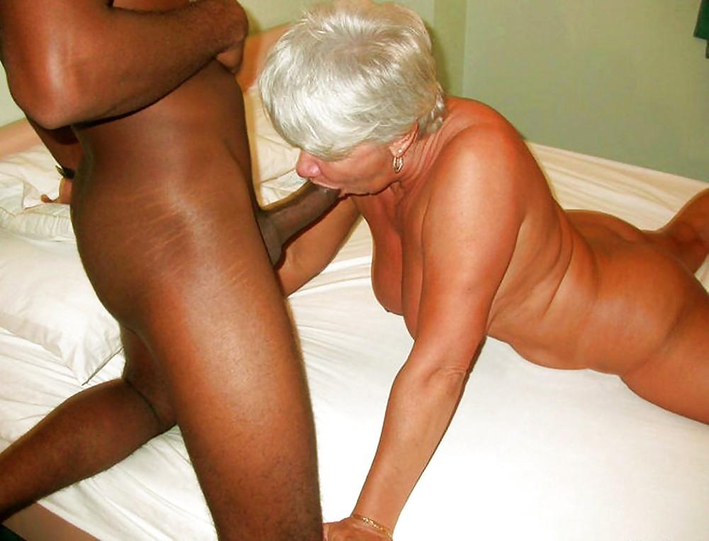 Interracial granny head free porn photo