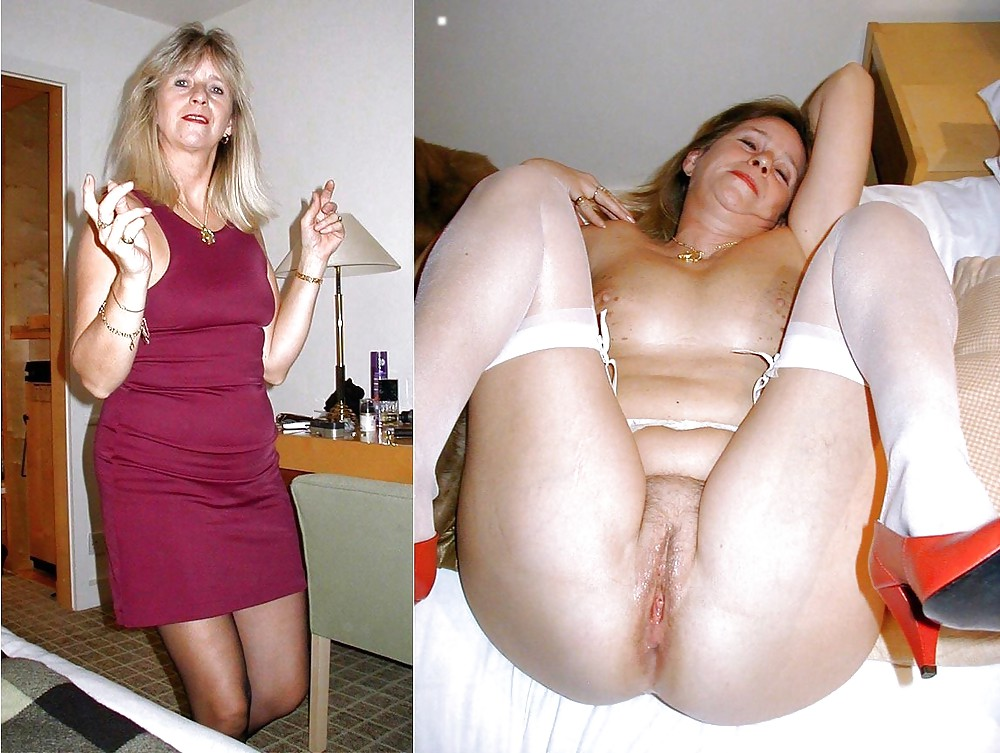 Mixed Milfs Dressed Undressed