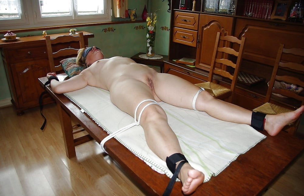 Mature Self Torture Bondage