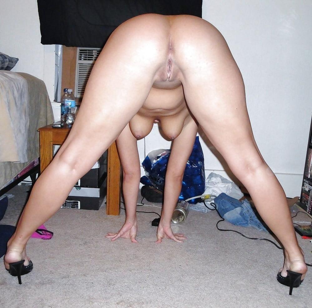 Blonde Hairy Nude Women Bent Over