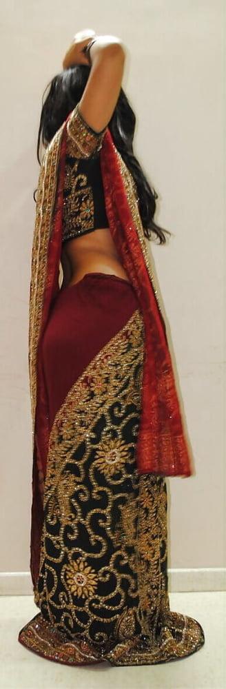 Beauty saree porn