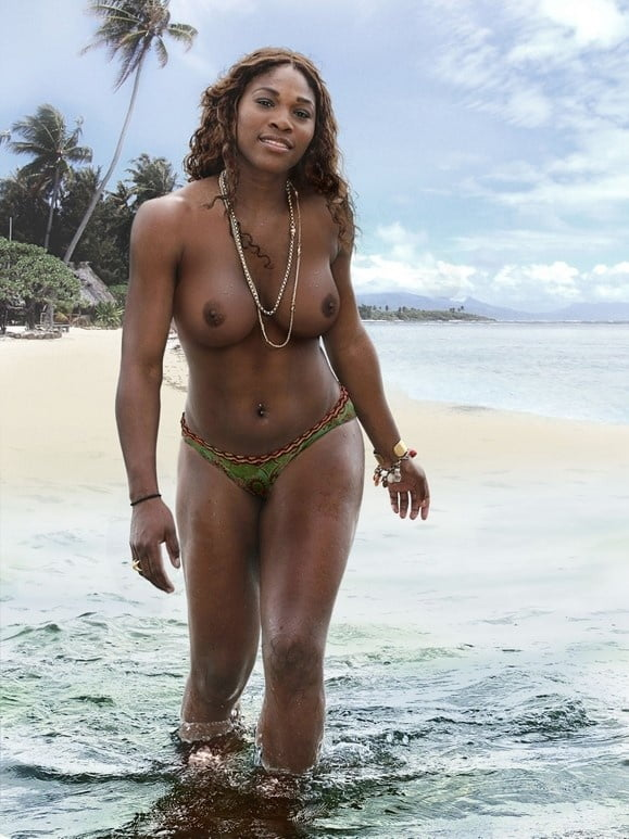 Pregnant serena williams poses nude for vanity fair