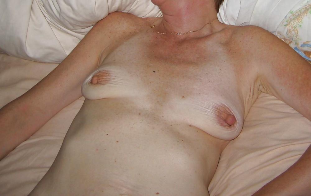 Mature small tits