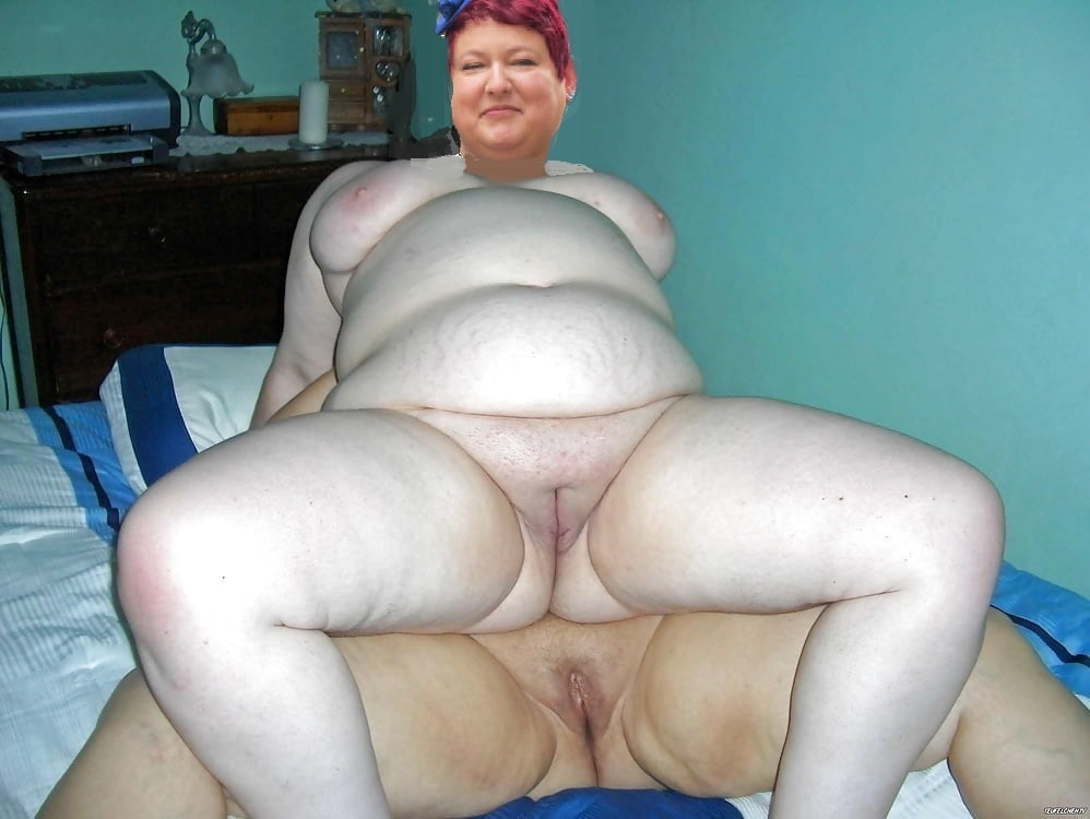 My naked fat wife-8285